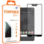 Full Fit Tempered Glass Screen Protector - Google Pixel 3 XL - Black